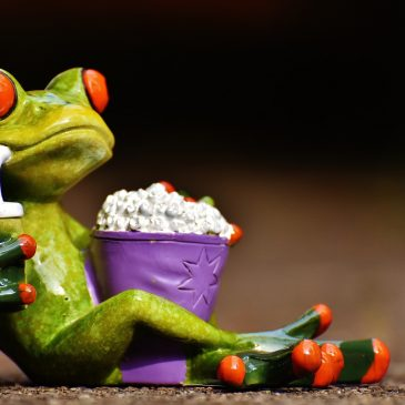 Popcorn und Kino