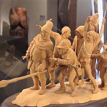Märchenfiguren aus dem Daetz-Centrum 1: Die sieben Schwaben