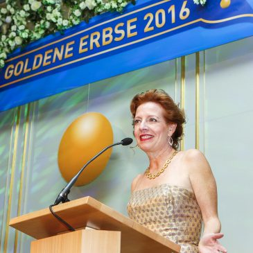 … and the Erbse goes to…