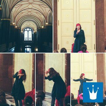 Märchenstunde im Roten Rathaus