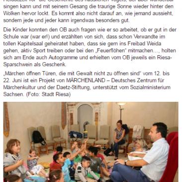 14.06.2017, Sonntagswochenblatt Riesa-Oschatz