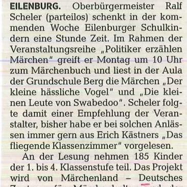 16.06.2017, Delitzsch-Eilenburger Kreiszeitung