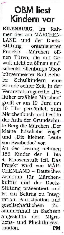 18.06.2017, Sachsen Sonntag