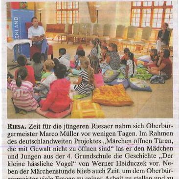 21.06.2017, Riesaer / Grossenhainer Wochenkurier