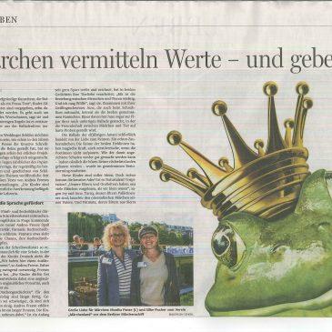 Die Märchen-Macher: 3 Doppelseiten in der Berliner Morgenpost