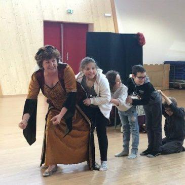 Zweisprachige Märchenstunde am 13.04.2018 mit Christine Fischbach in Lutterbach (F)