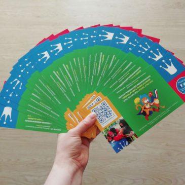 Yeah! Unsere Postkarten sind fertig!