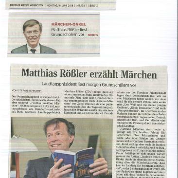 18.06.2018, Dresdner Neueste Nachrichten