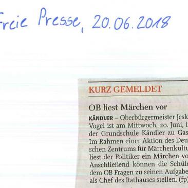 20.06.2018, Freie Presse