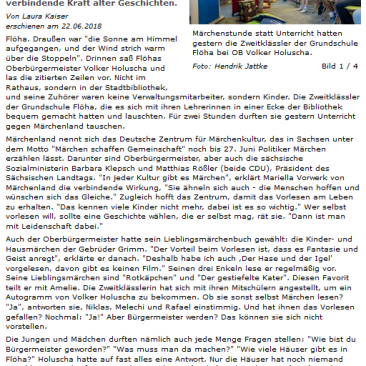22.06.2018, www.freiepresse.de