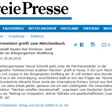26.06.2018,www.freiepresse.de