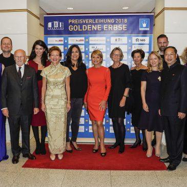 Verleihung der GOLDENEN ERBSE 2018