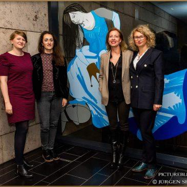 """05.11.2018: Vernissage der der Kunstausstellung """"Macht KUNST Ohnmacht"""""""