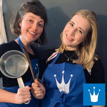 TISCHLEIN DECK DICH – Prinzessin auf der Erbse Suppe mit goldenen Knuspererbsen ????????